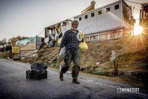 KARA TEPE (LESVOS) Relocation of migrants to new Lesvos camp starts.